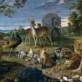 Orpheus And Animals by Frans Snyders