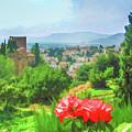 Overlooking Granada by Lisa Lemmons-Powers