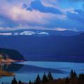 Overlooking Riffe Lake by Sherri Keene