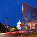 Overture Center On State Street In Madison Wisconsin by Michael Dykstra