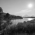 Oxbow Bend Grand Teton National Park  by Michael Ver Sprill