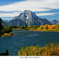 Oxbow Bend In Autumn by Greg Norrell