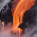 Pahoehoe Lava Flow by Ron Dahlquist - Printscapes