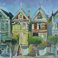 Painted Ladies by John Kilduff
