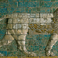 Panel With Striding Lion by Babylonian School