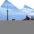 Panorama Of The City Of Toronto by Oleksiy Maksymenko