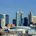 Panoramic View Of Nashville, Tennessee by Panoramic Images