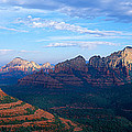 Panoramic View, Sedona, Arizona by Panoramic Images