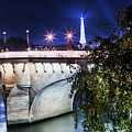 Paris At Night 23 by Alex Art and Photo