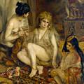 Parisiennes In Algerian Costume Or Harem by Pierre-Auguste Renoir