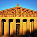 Parthenon In Nashville by Stanton Tubb