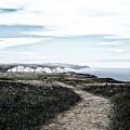 Path To White Cliffs Of Seaford by Toula Mavridou-Messer