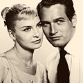 Paul Newman And Joanne Woodward In The Long Hot Summer 1958 by Mountain Dreams