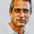 Paul Newman, Vintage Hollywood Actor by Mary Bassett