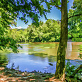 Peaceful On The River by Lisa Lemmons-Powers