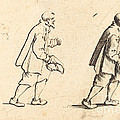 Peasant With Hat In Hand by Jacques Callot