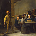 Peasants Celebrating Twelfth Night by David Teniers the Younger