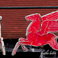 Pegasus At Keeler's Korner II by E Faithe Lester