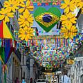 Pelourinho - The Historic Center Of Salvador by Ralf Broskvar
