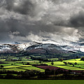 Pen Y Fan And Brecon Beacons Panorama by Nigel Forster