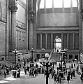 Pennsylvania Station Interior by Underwood Archives