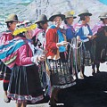 Peruvian Ladies by Constance Drescher