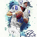 Peyton Manning by Zapista Zapista