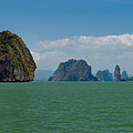 Phang Nga Province Of Phuket Thailand by Anthony Totah