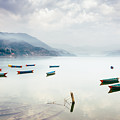 Phewa Lake In Pokhara, Nepal by Dutourdumonde Photography