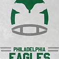Philadelphia Eagles Vintage Art by Joe Hamilton