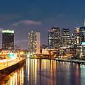 Philadelphia Skyline by Songquan Deng