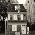 Philadelphia - The Betsy Ross House by Bill Cannon