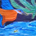 Philippine Kingfisher Painting Contest 1 by Carmela Maglasang