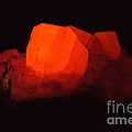 Phosphorescent Calcite Crystal by Ted Kinsman