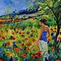 Picking Flowers by Pol Ledent