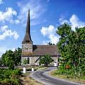 Picturesque Rural Church by Anthony Dezenzio