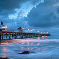 Pier In Blue by Gary Zuercher
