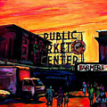 Pike Place by Sarah Ghanooni