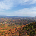 Pilot Mountain Panorama by Jill Lang