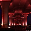 Pink Bridge 4 by Lisa Renee Ludlum