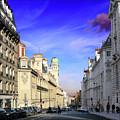 Pink Cloud In Paris by Guy Ciarcia