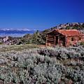 Pioneer Cabin by Leland D Howard
