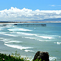 Pismo Beach Pier Panorama by Paul Schneider