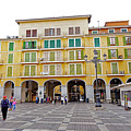 Placa Mayor In Palma Majorca Spain by Richard Rosenshein
