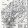 Plan Of The City Of New York by American School