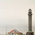 Point Arena Lighthouse Ca by Christine Till