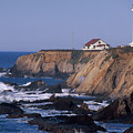 Point Arena Lighthouse by Soli Deo Gloria Wilderness And Wildlife Photography