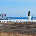 Point Judith Light by Catherine Reusch Daley