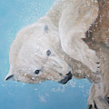 Polar Bear Ballet,  Detail by Odile Kidd