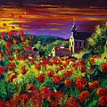 Poppies In Foy by Pol Ledent
